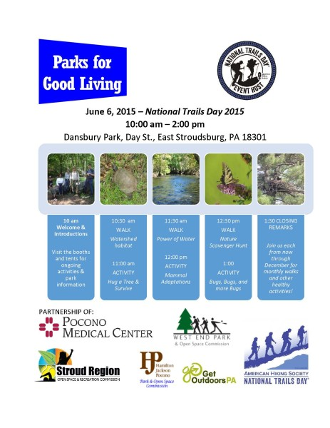 Parks for Good Living kickoff event