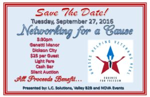 Networking for a Cause - Equines for Freedom @ Genetti Manor